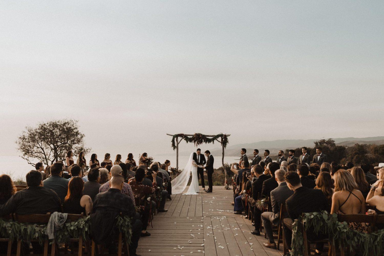 dreamy ceremony along the Santa Barbara coast at Dos Pueblos Orchid Farm Wedding Venue